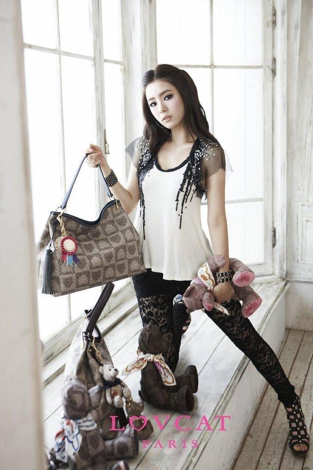 Shin Se Kyung - For Lovcat Bags Paris