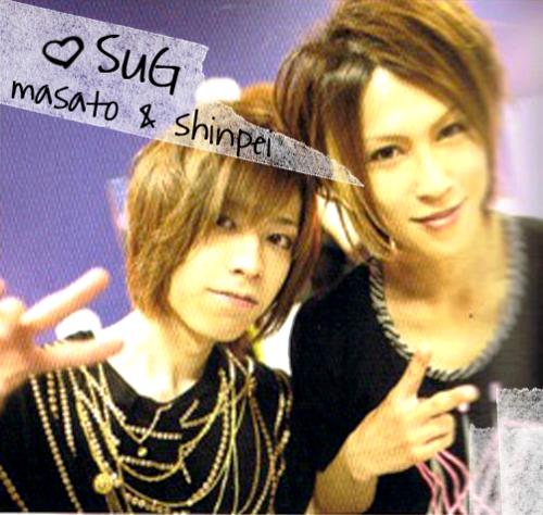 Shinpei and Masato