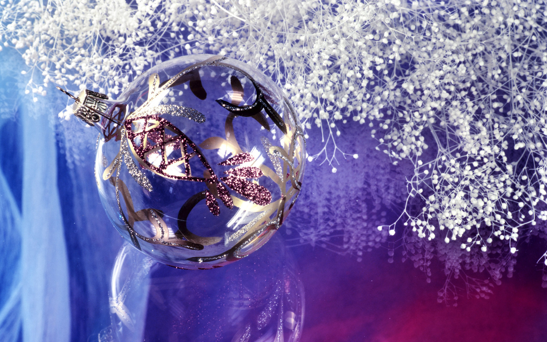 christmas images silver christmas decorations hd wallpaper and background photos - Purple And Silver Christmas Decorations