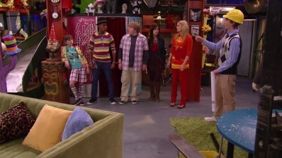 Sonny With a Chance cast in the prop HOUSE!!!