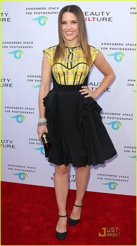 Sophia Bush: Beauty Culture Opening Night!