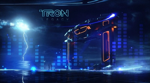 TRON wallpaper (made da Danny Bee)