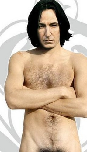 Severus Snape achtergrond with a hunk, skin, and a six pack titled The Bushmaster