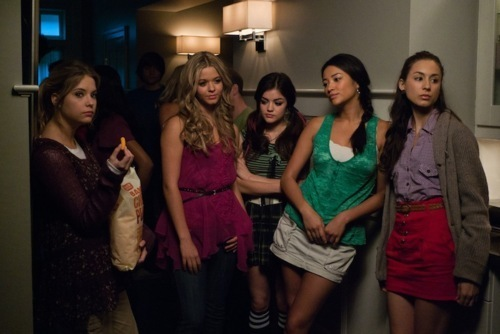 The girls of Pretty Little Liars