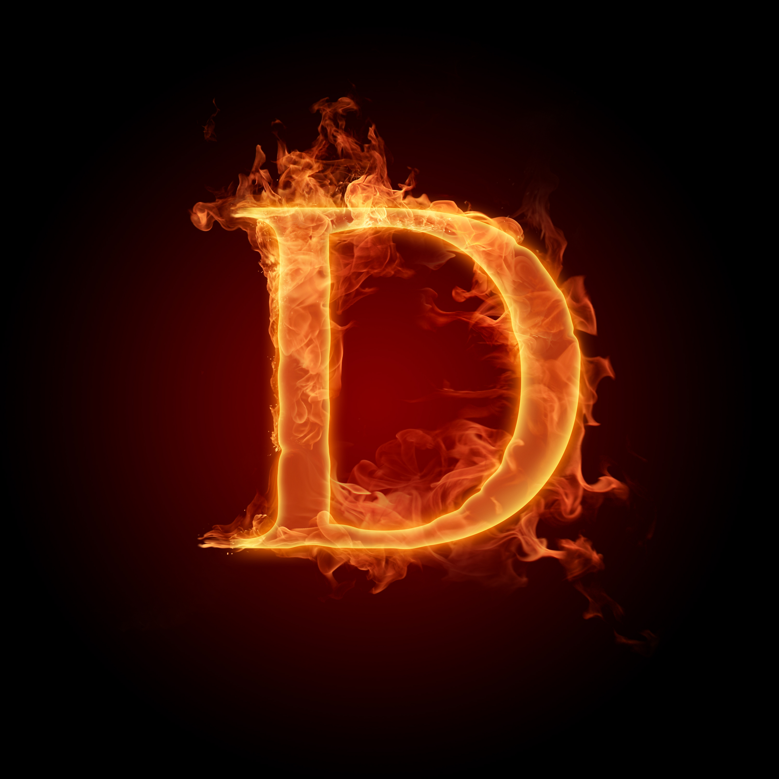 graphic relating to D&d Printable Monster Cards referred to as The letter D - The Letter D Picture (22215873) - Fanpop
