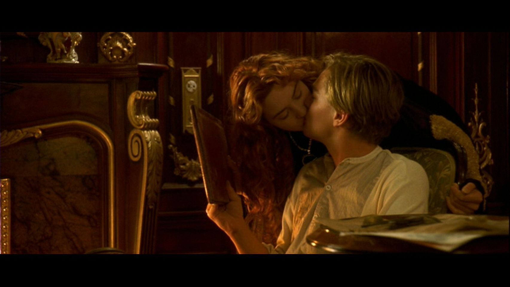 Clip from movie titanic