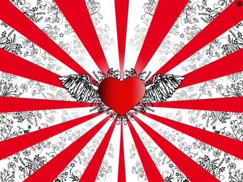 Valentine's Day wallpaper titled Valentine's love
