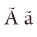 Variations of letter A - the-letter-a icon