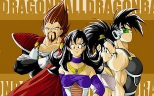 Vegeta and Goku's parents