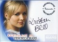 Veronica Mars! Signed!