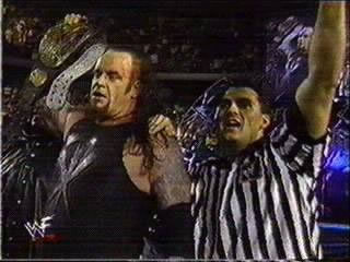 Undertaker wins the WWF Championship - (1999)