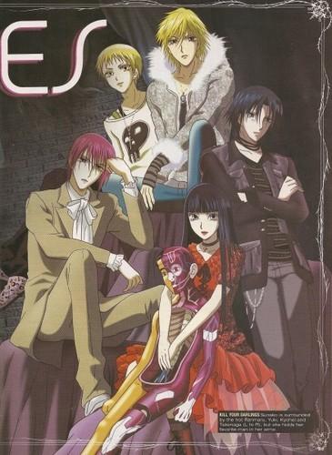 Yamato Nadeshiko Shichihenge karatasi la kupamba ukuta with anime entitled WallFlower