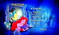 Walt डिज़्नी DVD Menus - The Little Mermaid