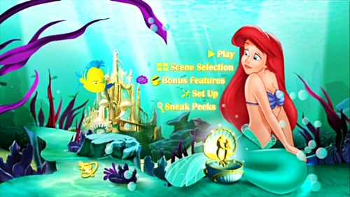 Walt डिज़्नी Menus - The Little Mermaid: Ariel's Beginning