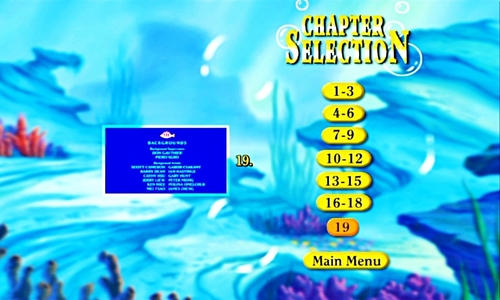 Walt 디즈니 Menus - The Little Mermaid II: Return to the Sea