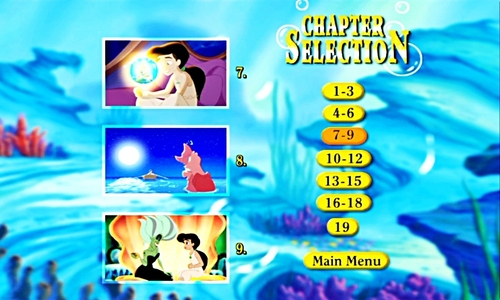 Walt Disney Menus - The Little Mermaid II: Return to the Sea