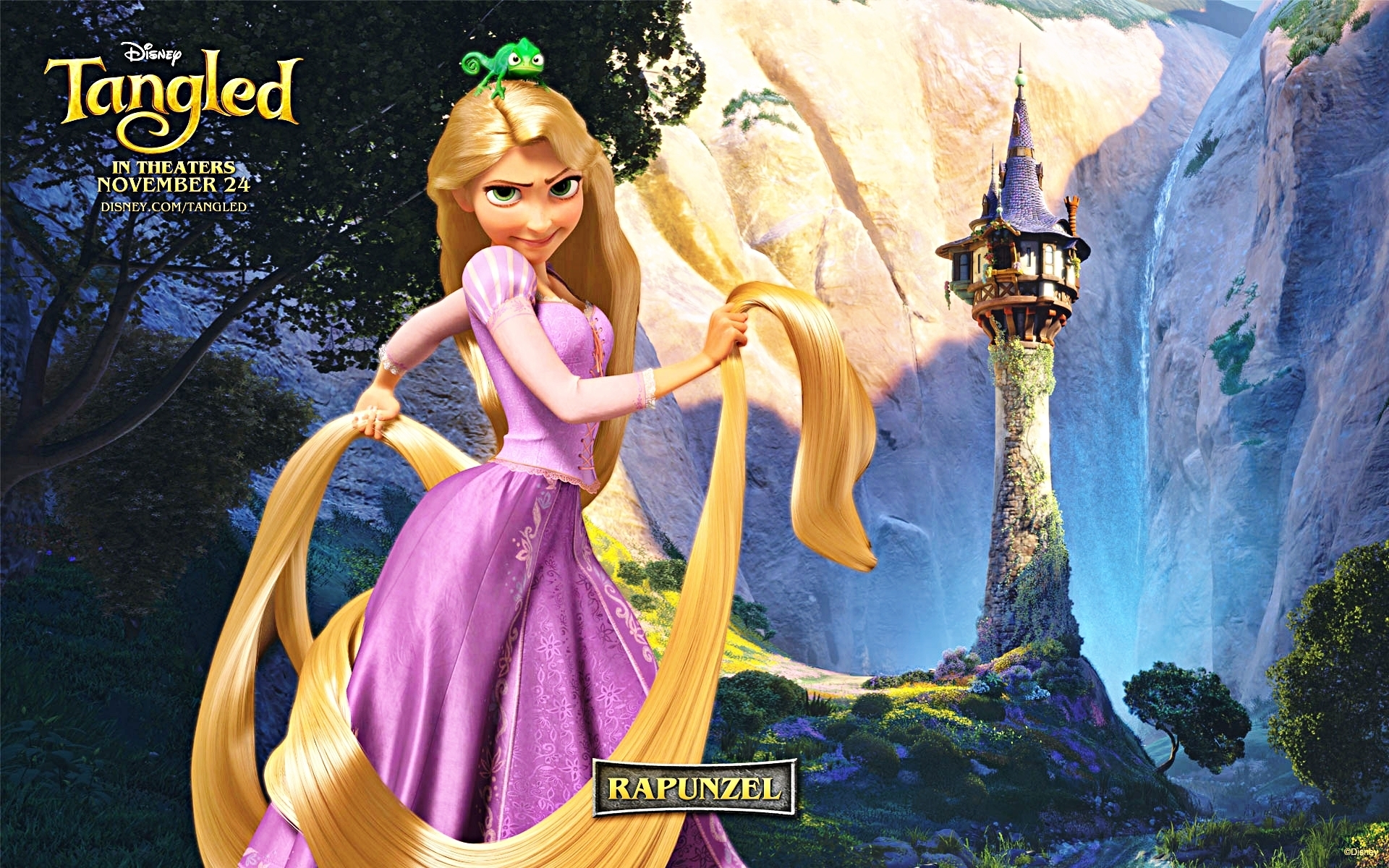 Walt Disney Characters Walt Disney Wallpapers - Tangled