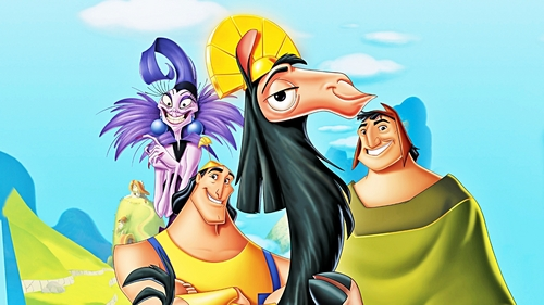 Walt Disney پیپر وال - The Emperor's New Groove