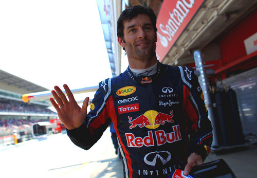 Webber, P1 for Spanish GP!