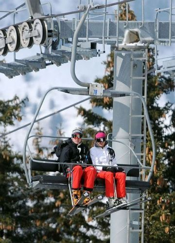 William and Kate; 2010 French Alps Holiday
