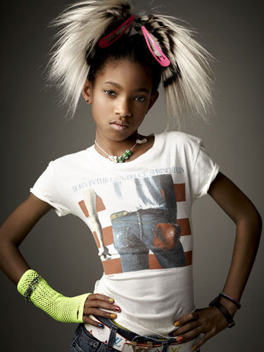 Willow Smith Hintergrund titled Willow