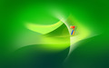 Windows vista - green wallpaper