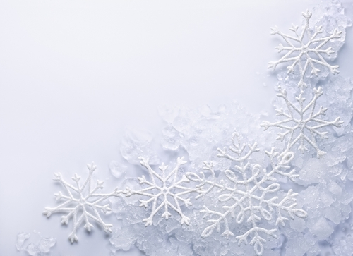Winter wallpaper titled Winter snow flakes