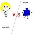 You VS Autism - autism-awareness fan art