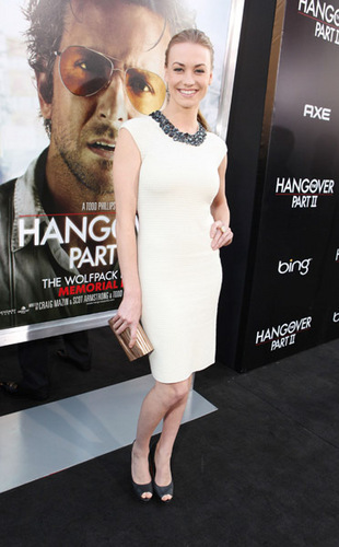 Yvonne Strahovski @ the Premiere of 'The Hangover Part 2'