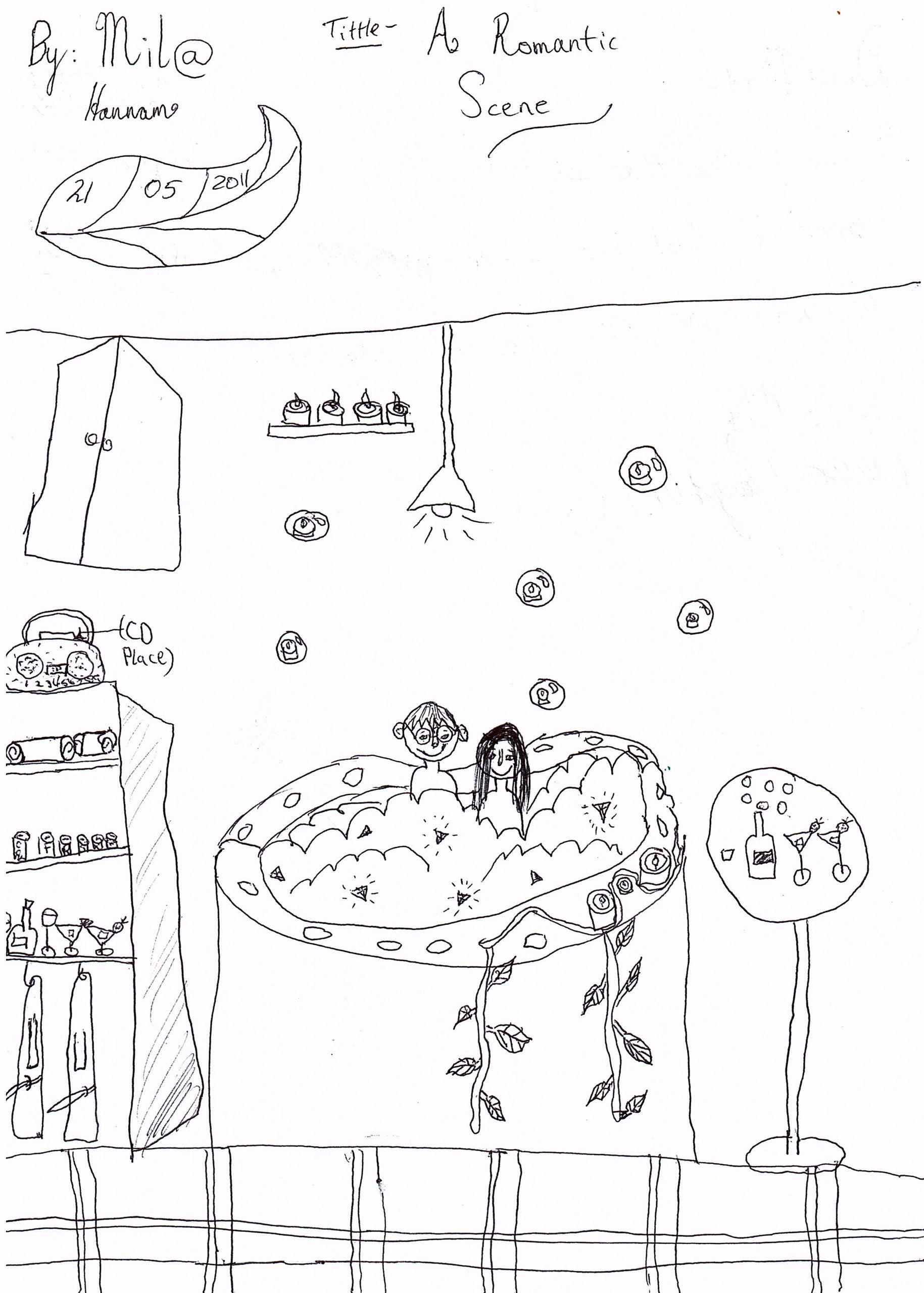 a romantic scene  - harry potter fan art  22250218