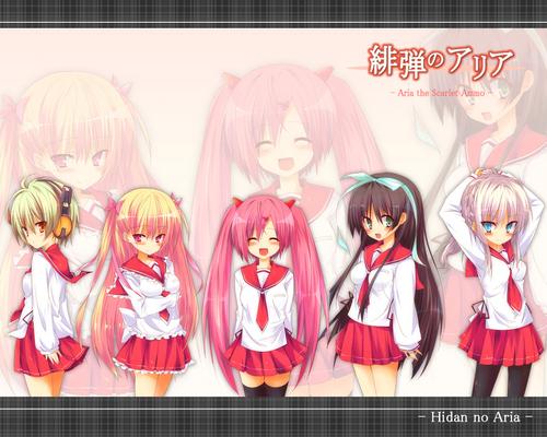 aria's cute crew