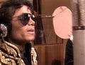 behind the scenes of  We Are The World - mj-behind-the-scenes photo