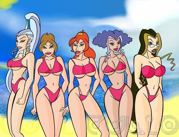 The Winx Club big, funny winx bodies