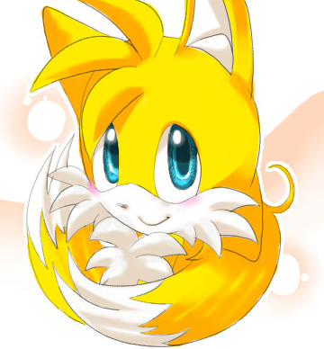 "Miles ""Tails"" Prower wallpaper entitled cute tails"