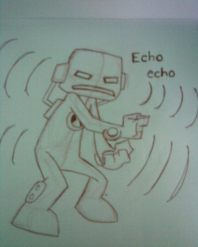 drawing of echo echo