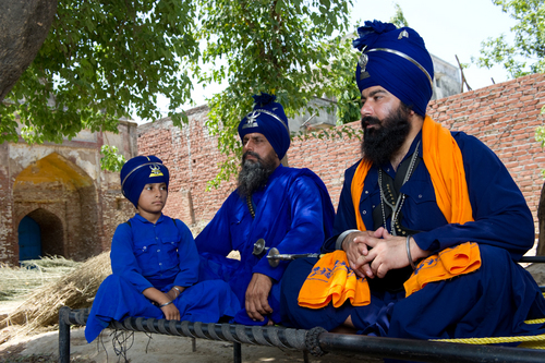 jathedar swarnjit singh and famly