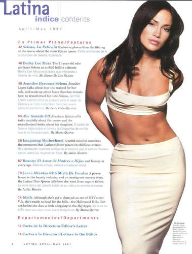 Selena (the movie) Обои called magazine