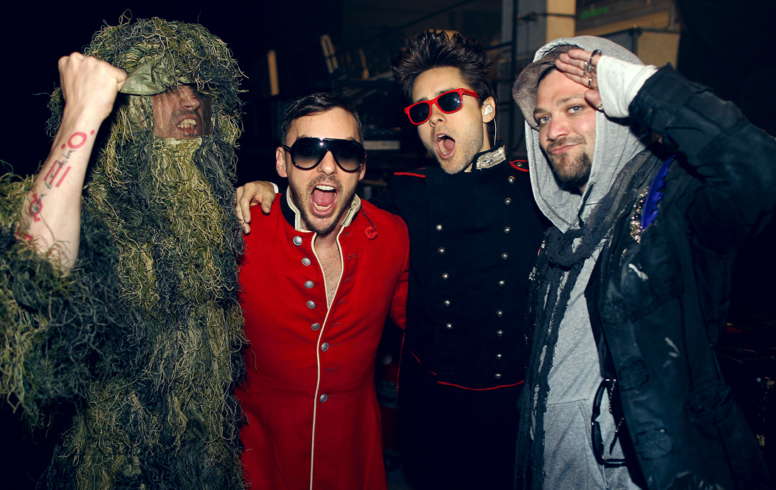new picture: 30STM and Bam Margera