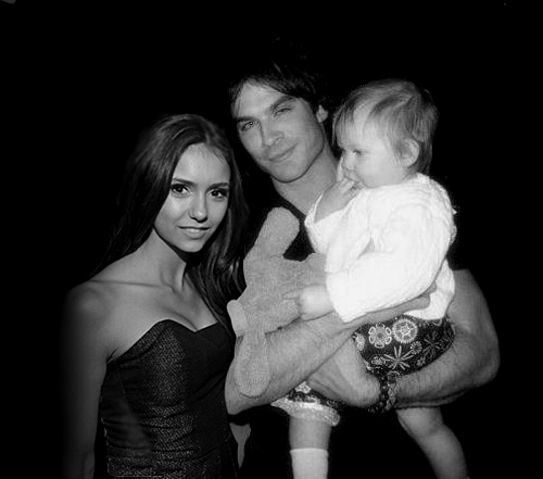 Ian Somerhalder and Nina Dobrev wallpaper called nian future