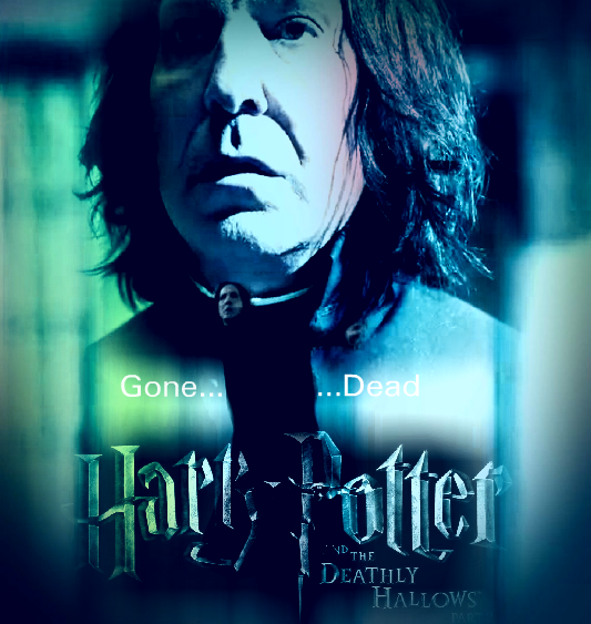 alan rickman snape. snape in dh part 2