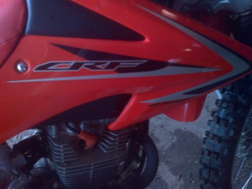 traded my Kawasaki KX250F for this!
