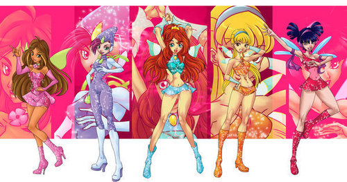 El Club Winx fondo de pantalla possibly containing anime titled winx club alternate version