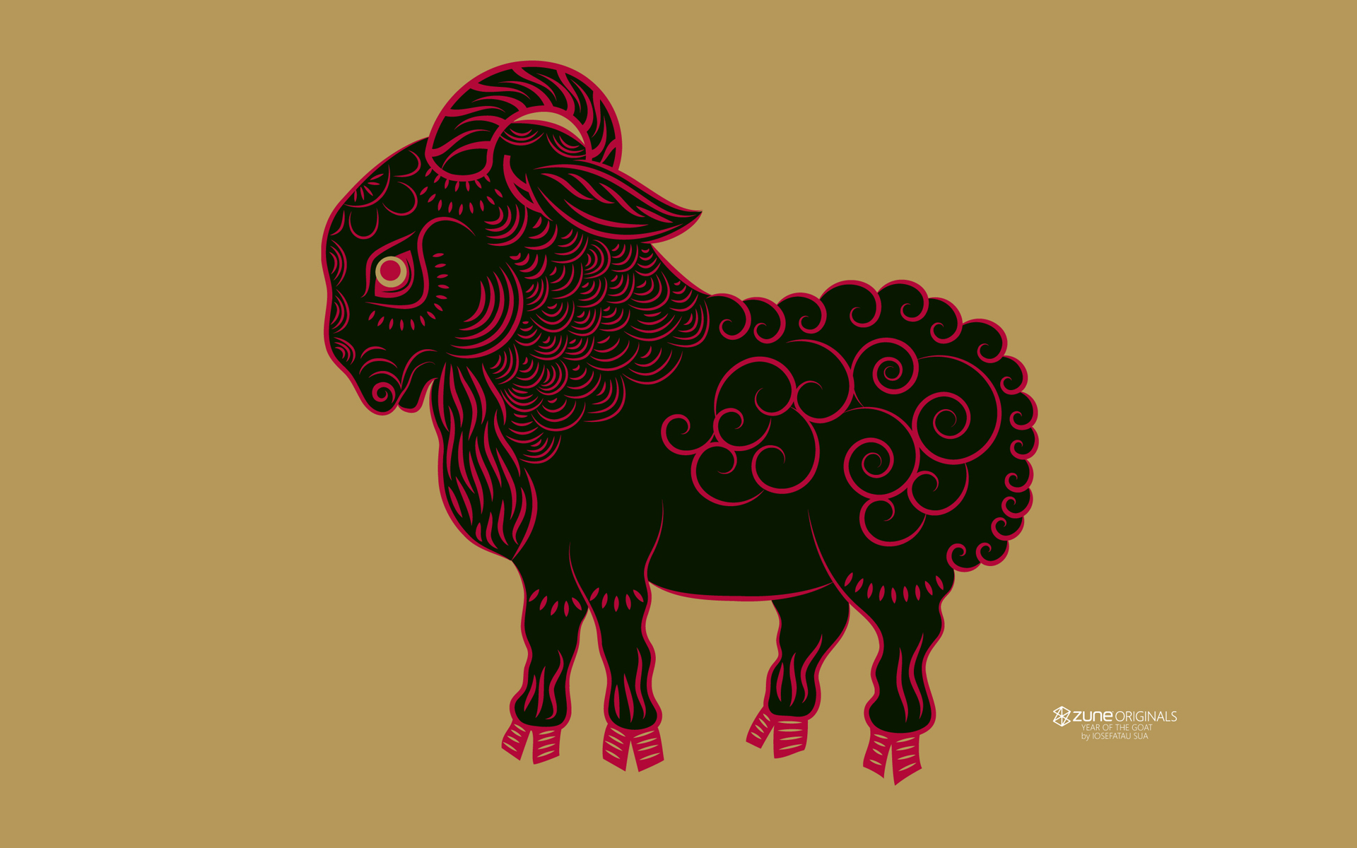 2015 Chinese Zodiac Year of the Goat