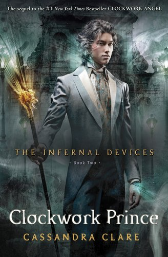"""Clockwork Prince"" Book Cover"