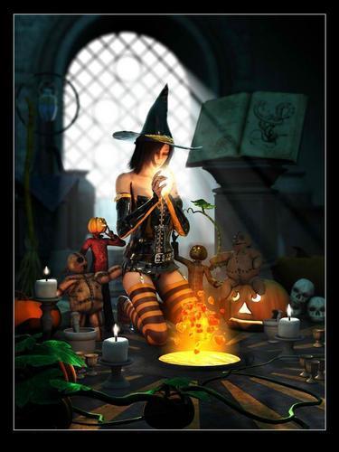 ~magic halloween~