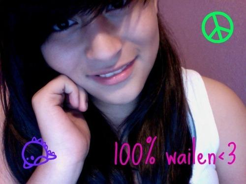 100% wailen<3 (;