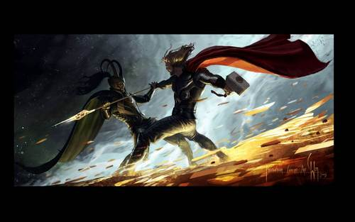 2011 Thor Movie Concept Art