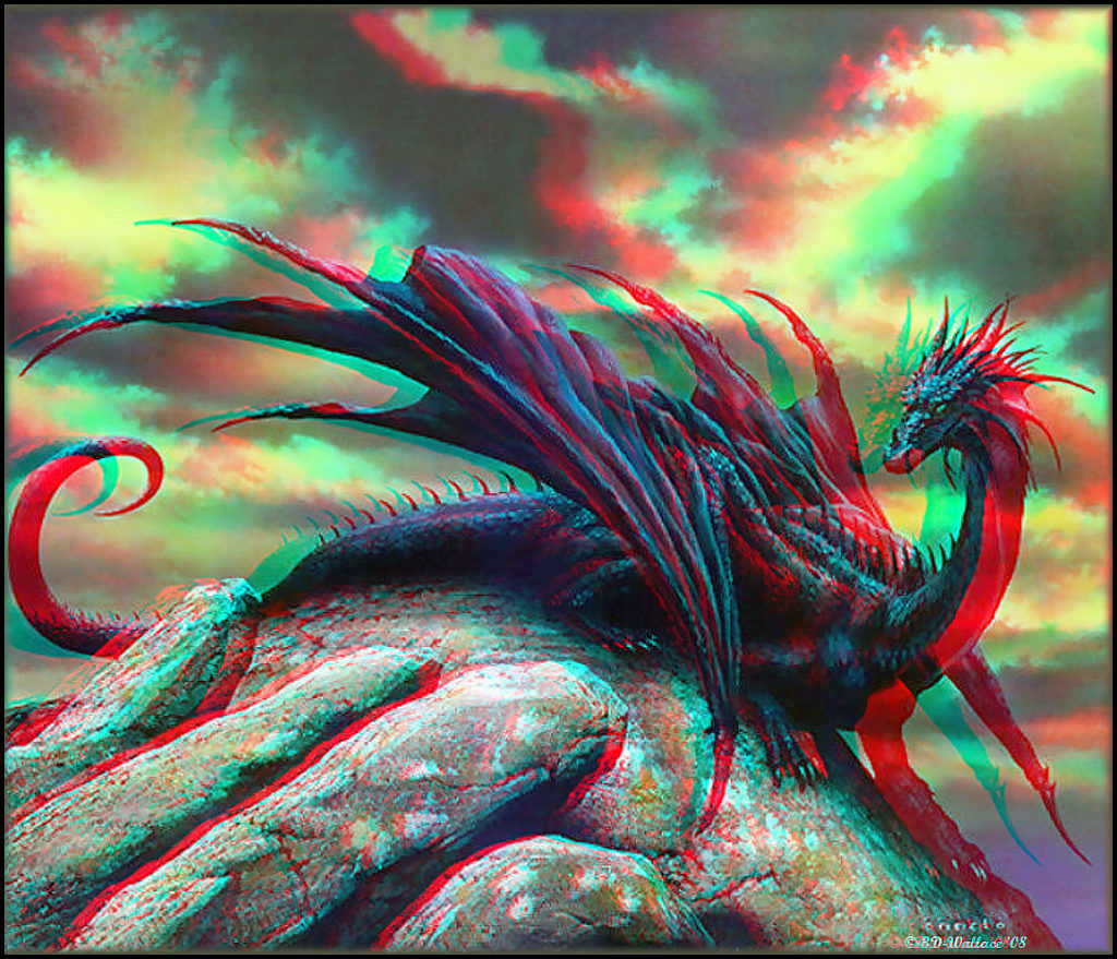 3D Dragons Pictures