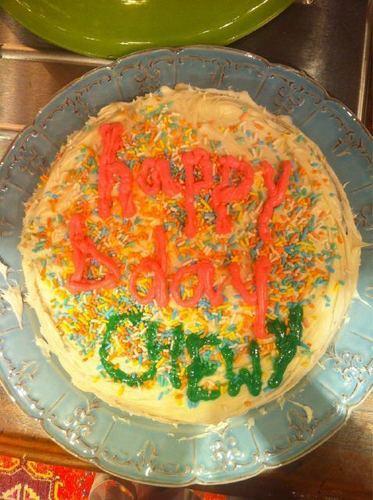 A Cake She Made