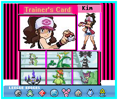 A Trainer Card I Made